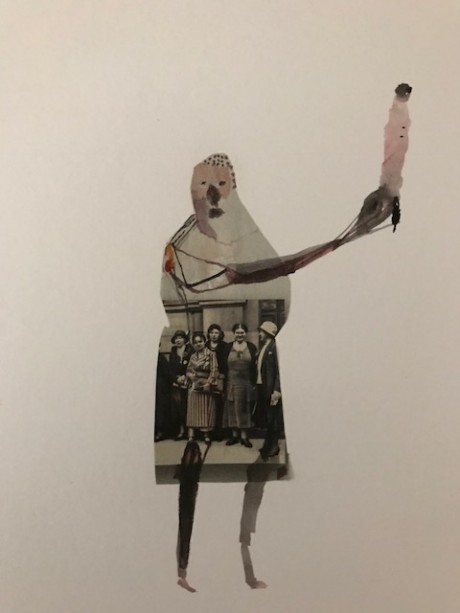 George Raftopoulos, 2017, Collage on paper