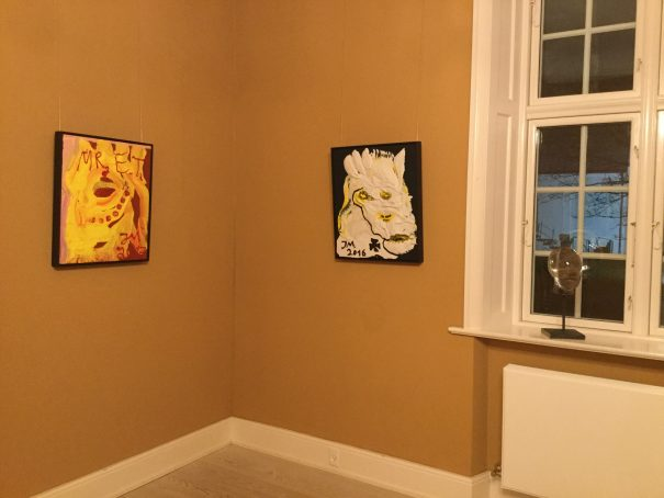 Installation view Angry Boys